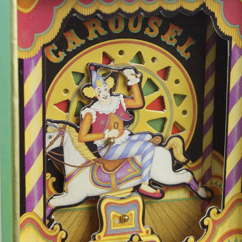 Dancing with Music Clown On Horseback