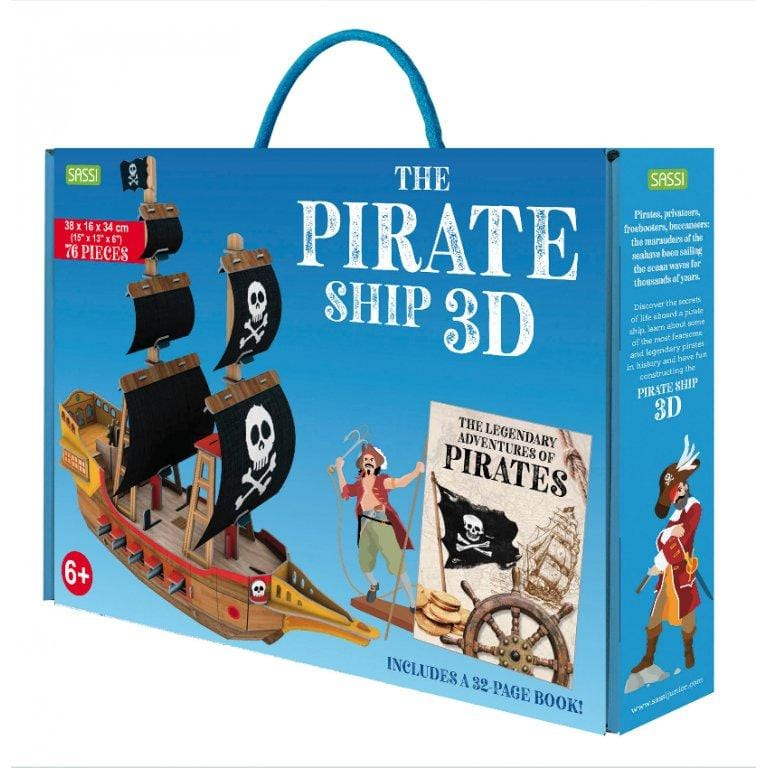 3D Models - The Legendary Adventures oF Pirate