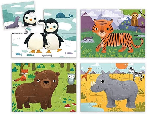 Puzzle Play Sets: Animals of the World
