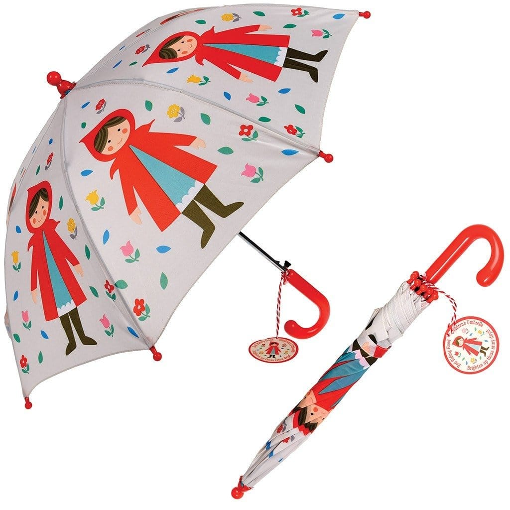 RED RIDING HOOD CHILDREN'S UMBRELLA