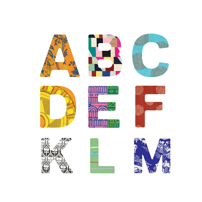 Wooden Magnetics Sets: Eric Carle Uppercase Letters