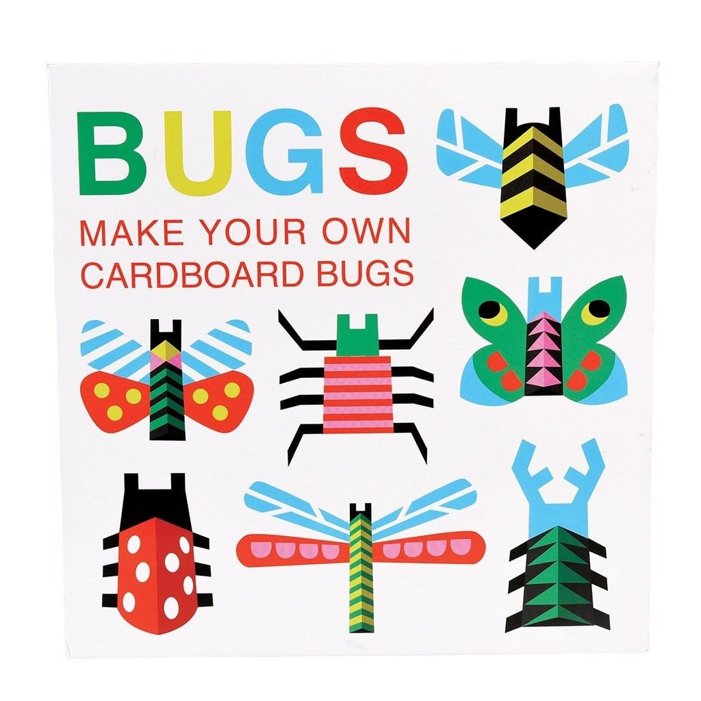 MAKE YOUR OWN CARDBOARD BUGS