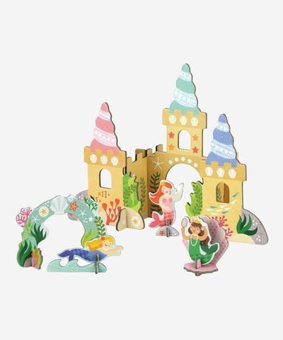 MERMAID CASTLE POP OUT PLAY SET
