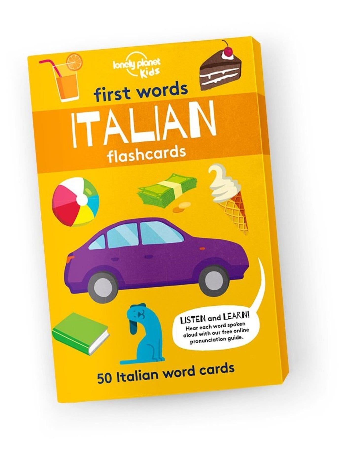 FIRST WORDS - ITALIAN 1E (FLASHCARDS)