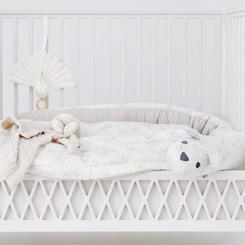 ORGANIC COTTON ANIMAL BED BUMPER