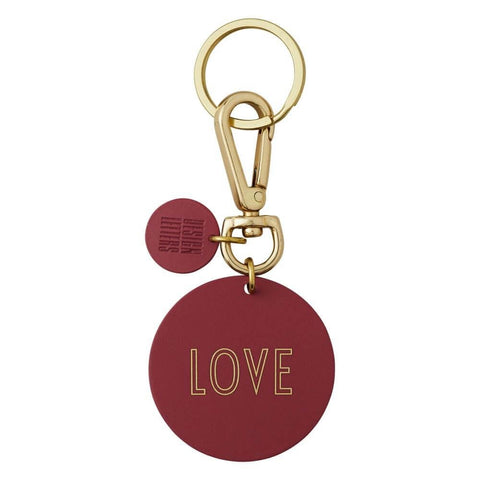 Key Ring - LOVE (RED)