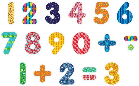 Wooden Magnetics Sets: Pattern Pop Numbers