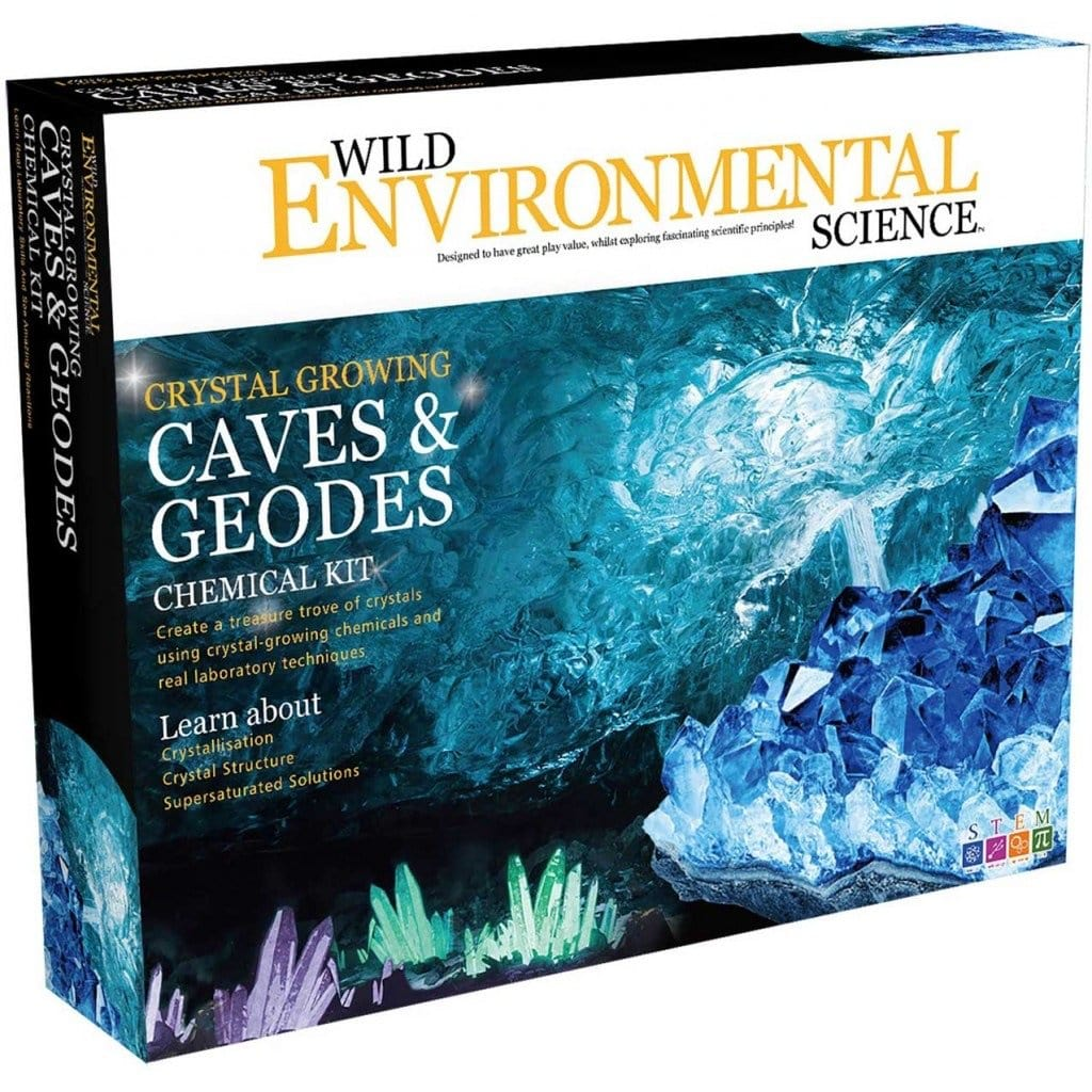 Wild Environment Science - Caves & Geodes