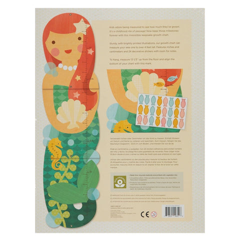 LITTLE MISS MERMAID GROWTH CHART