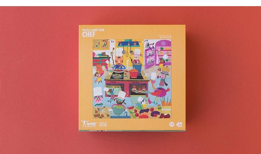 I WANT TO BE CHEF PUZZLE