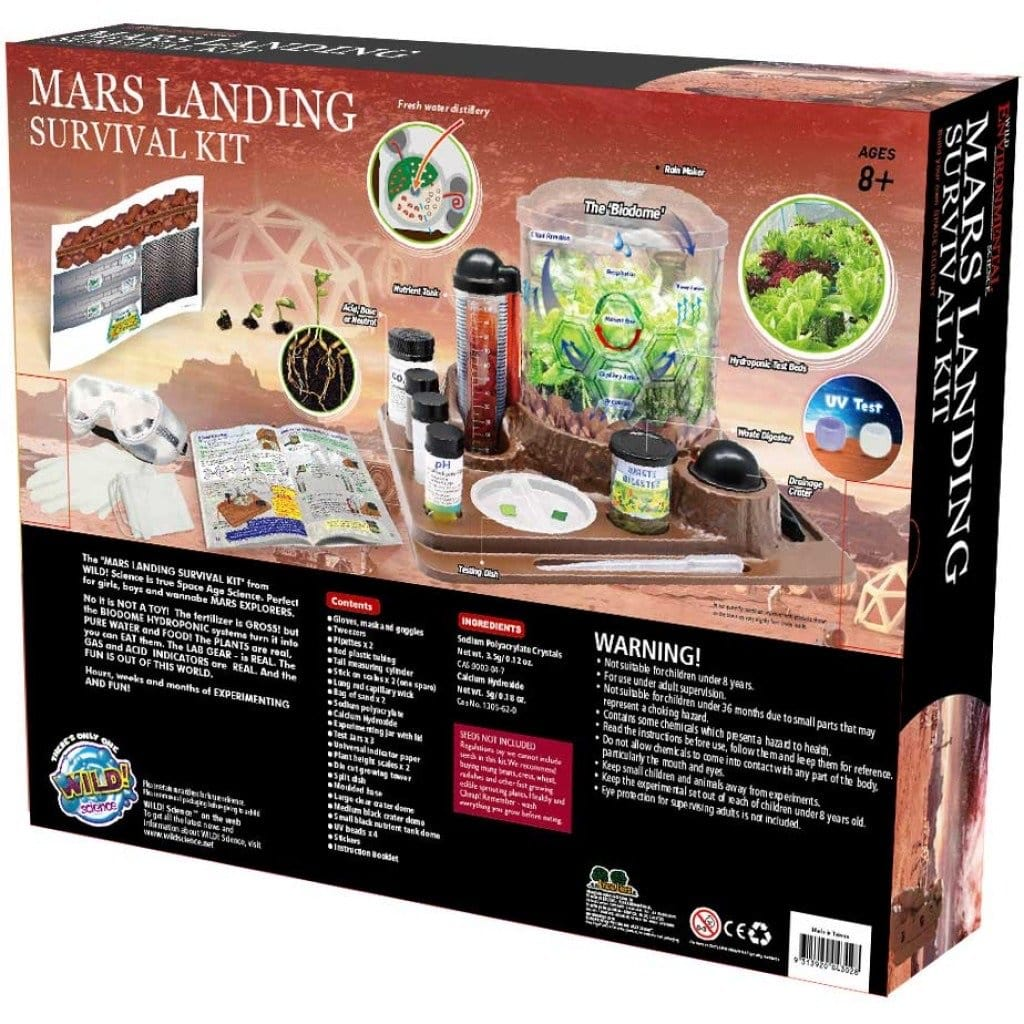 Wild Environment Science -Mars Landing Survival Kit