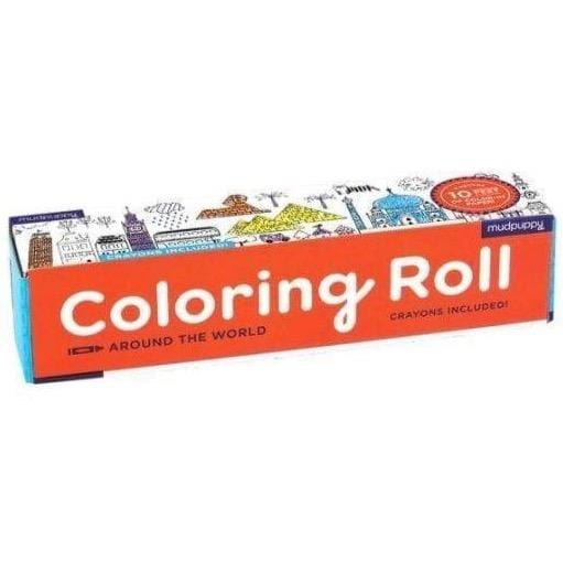 Coloring Rolls: Around the World