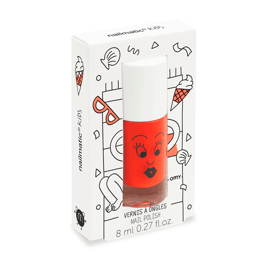 Nail polish for kids - DORI - ORANGE