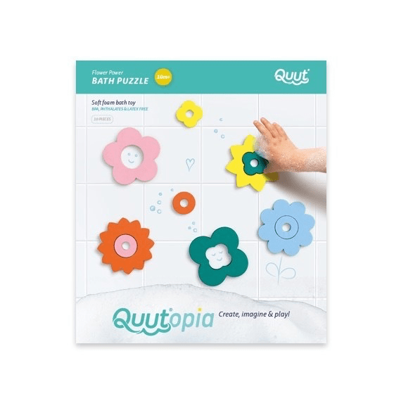 Quutopia Bath Puzzle - Flower Power