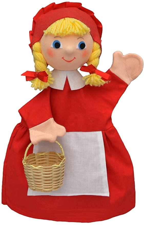 Hand puppet red riding hood