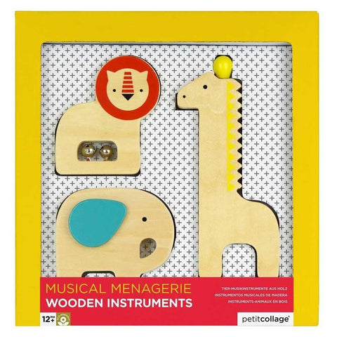 Wooden Animal Instruments: Musical Menagerie