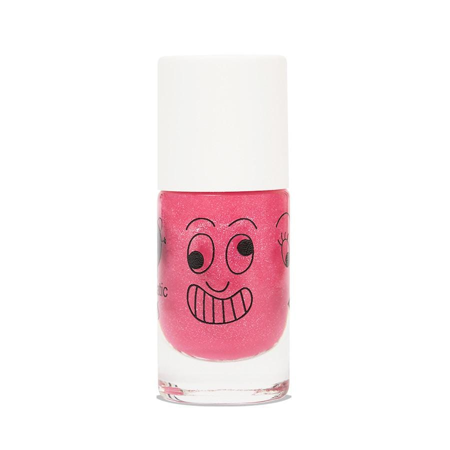 Nail polish for kids - Kitty - candy pink glitter