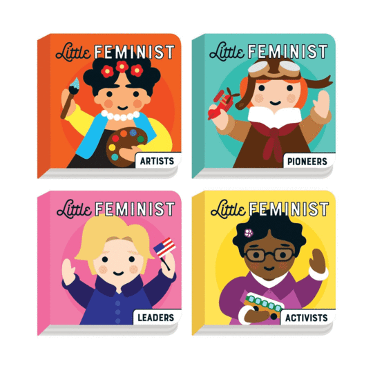 4 Board Book Set: Little Feminist
