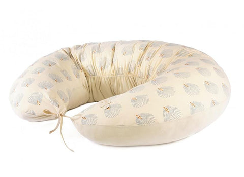 Maternity pillow Luna gold blue gatsby cream