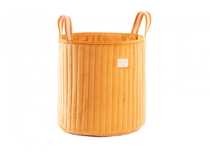 VELVET TOY BAG FARNIENTE YELLOW