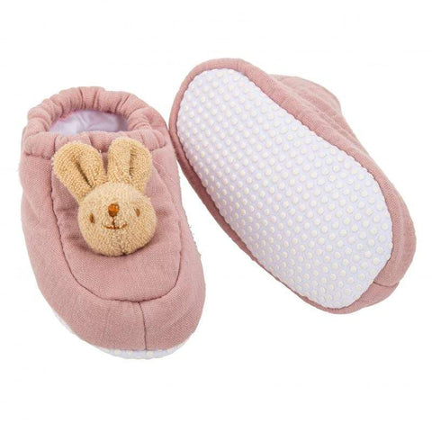 SLIPPERS BUNNY 0-2YEARS
