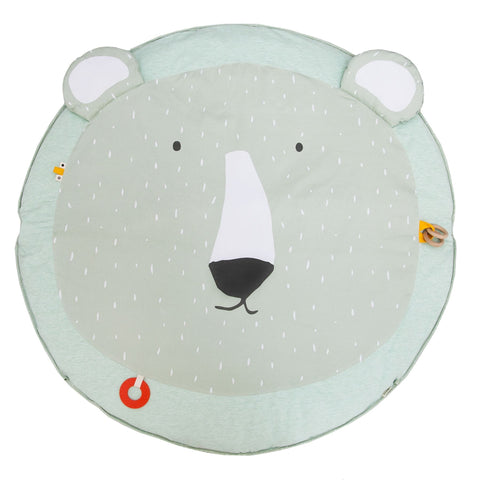 Activity play mat with arches - Mr. Polor Bear