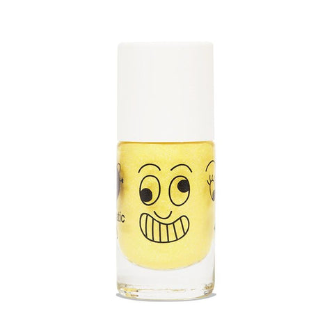 Water-based nail polish for children - Lulu - pearly yellow