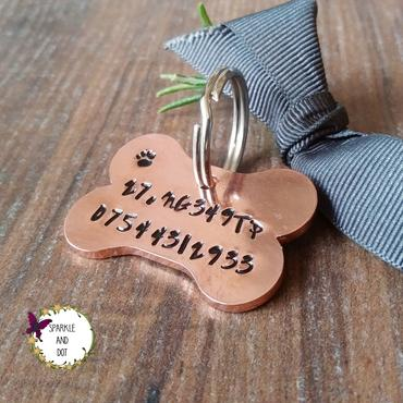 Personalised Dog ID Collar Tags