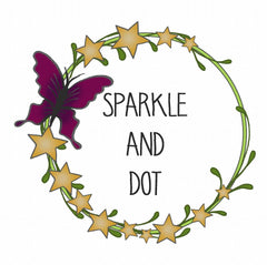 Sparkle and Dot Logo