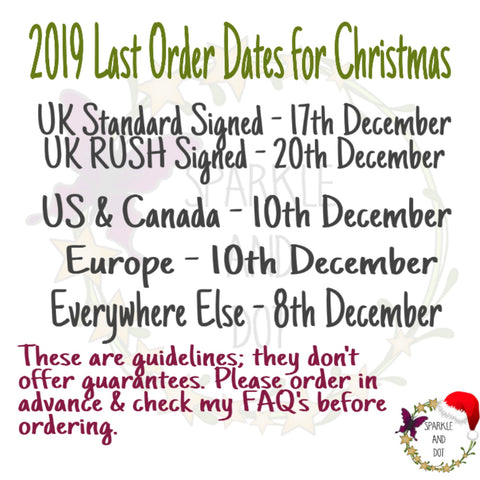 Christmas Posting Guidelines 2019