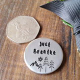 Personalised Pocket Message Tokens Sparkle & Dot Hand Stamped