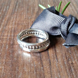 Set Of Three Skinny Silver Stacker Rings - sparkle-dot-designs