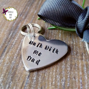 Walk With Me Bouquet Memorial Charm Keyring-Keyring-Sparkle & Dot Designs