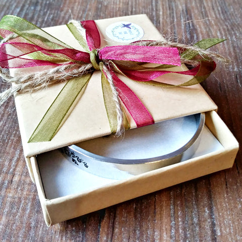 Gift Box For Sparkle & Dot Hand Stamped Jewellery - sparkle-dot-designs