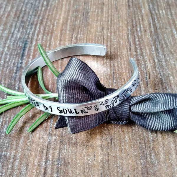 Inspirational Bracelet | All Is Well Mindfulness Quote-Bracelet-Sparkle & Dot Designs