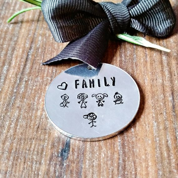 Stick Family Designs Sparkle & Dot Hand Stamped