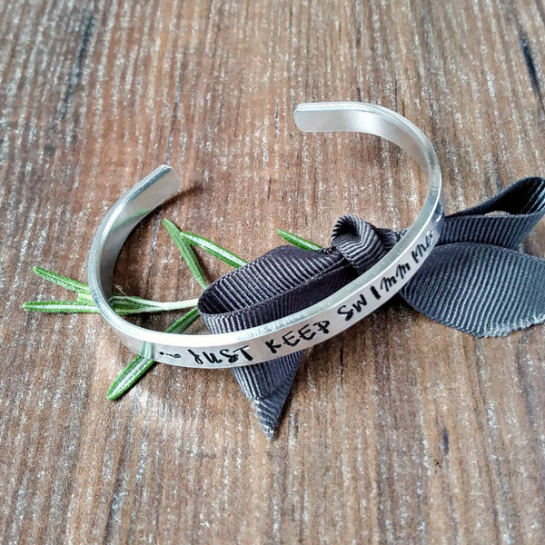 Just Keep Swimming Bracelet-Bracelet-Sparkle & Dot Designs