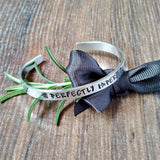 Perfectly Imperfect Personalised Bracelet-Bracelet-Sparkle & Dot Designs