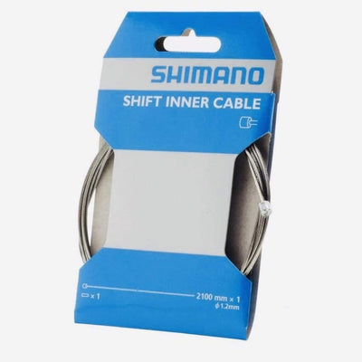 Shimano Stainless Shift Cable 2100mm - Bicicletta