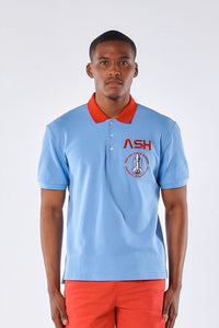 ASH SKY BLUE POLO SHIRT