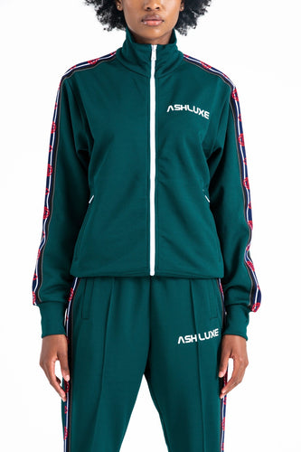 GREEN ROBOTICS TRACK JACKET