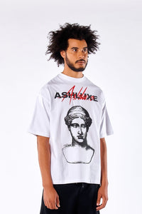 WHITE APOLLO OVERSIZED T-SHIRT