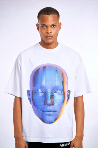 FACE OVERSIZED T-SHIRT