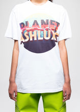 SOCIETY PLANET ASH WHITE T-SHIRT