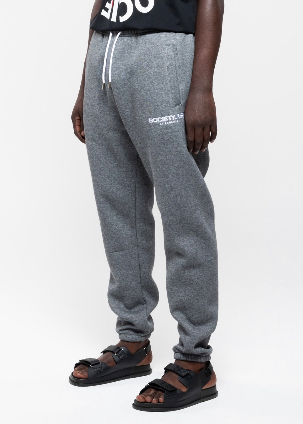 SOCIETY GREY SWEATPANTS