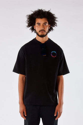 GRADIENT ALIEN OVERSIZED T-SHIRT