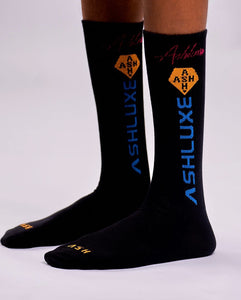 BLACK TRILOGO SOCKS