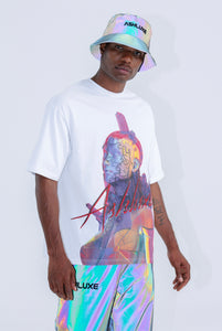 WHITE RELIC OVERSIZED T-SHIRT