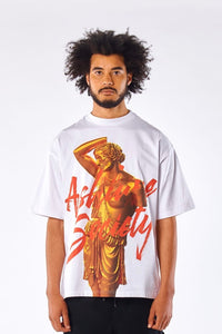 GOLD APOLLO OVERSIZED T-SHIRT