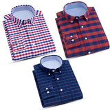 Combo of 3 Mens Checkered Slim Fit Shirts